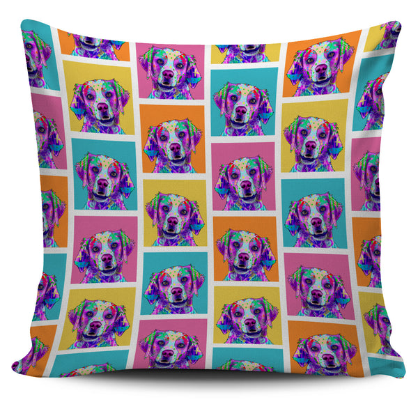 Brittany Dog Breed Pillow Covers (Colorful Boxes)