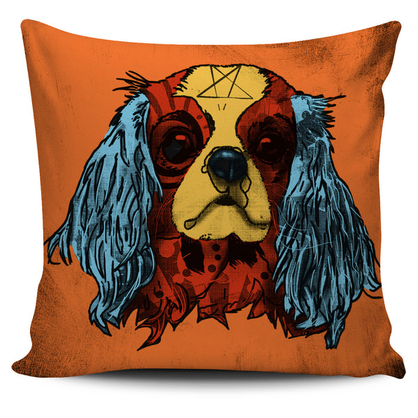 Cavalier King Charles Spaniel Dog Breed Pillow Covers (Andy Warhol Style)