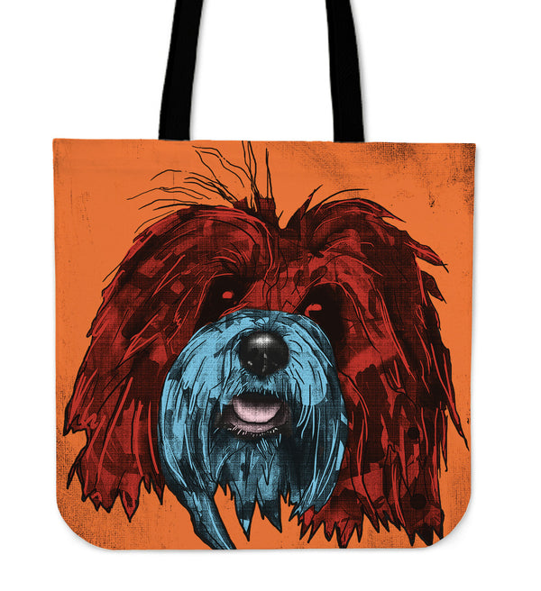 Bichon Havanese Dog Breed Tote Bag (Andy Warhol Style)