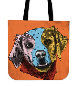 Brittany Dog Breed Tote Bag (Andy Warhol Style)