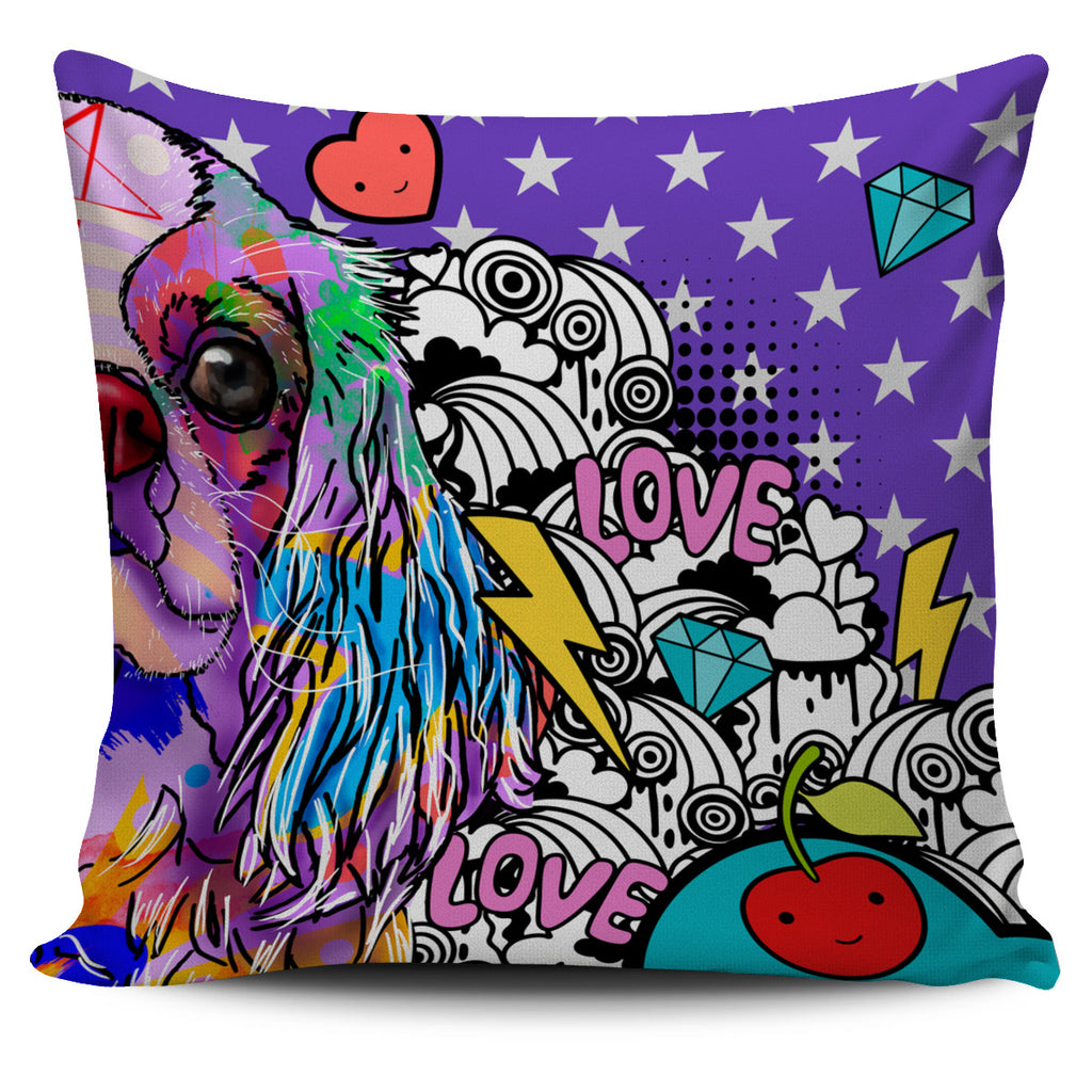 Cavalier King Charles Spaniel Dog Breed Pillow Covers (Fun Love Carnival)