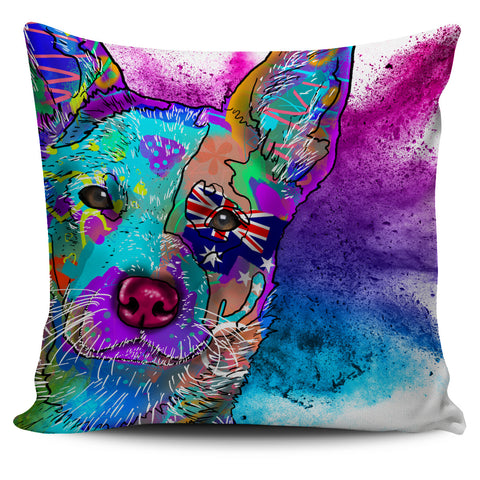 Australian Cattle Dog Breed Pillow Covers (Abstract Designs)