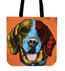 Beagle Dog Breed Tote Bag (Andy Warhol Style)