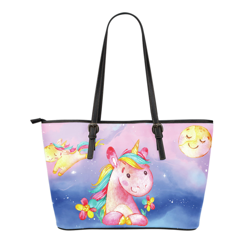 Unicorn Moon Leather Totes (Small)
