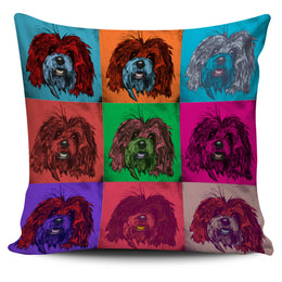 Bichon Havanese Dog Breed Pillow Covers (Andy Warhol Pattern)
