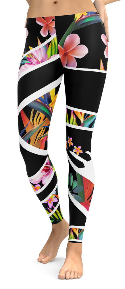Tropical Kaleidoscope Leggings