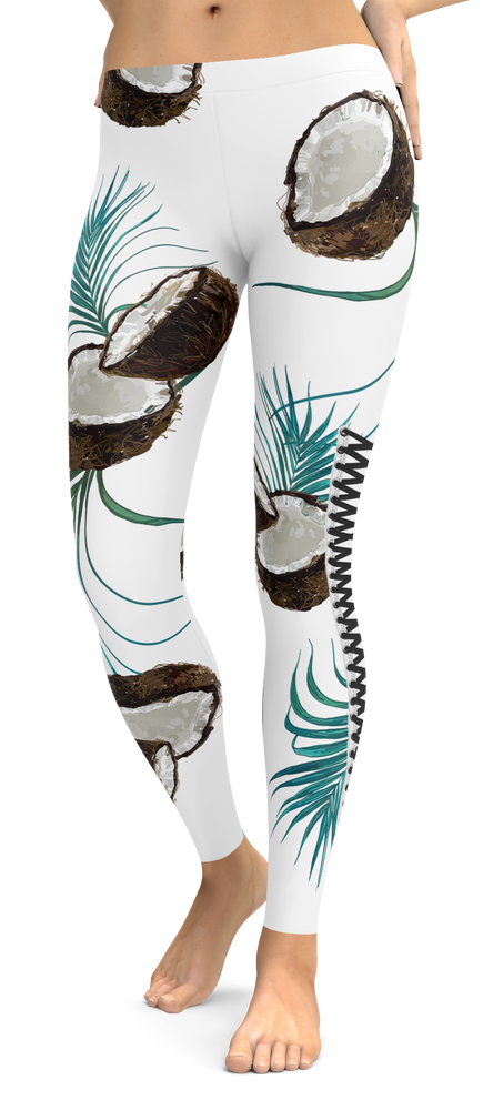 Tropical Coconut Dreams Leggings