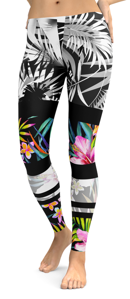 Tropical Band Leggings