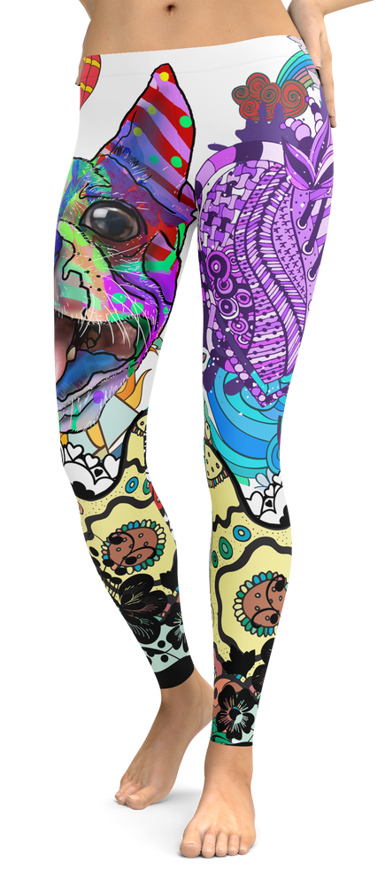 Boston Terrier Dog Breed Leggings