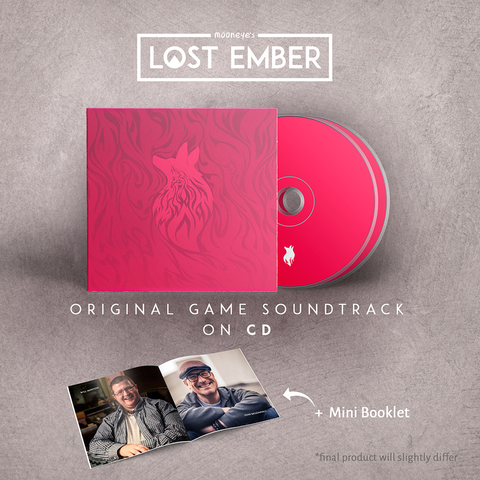 Lost Ember Soundtrack  - Compact Disc