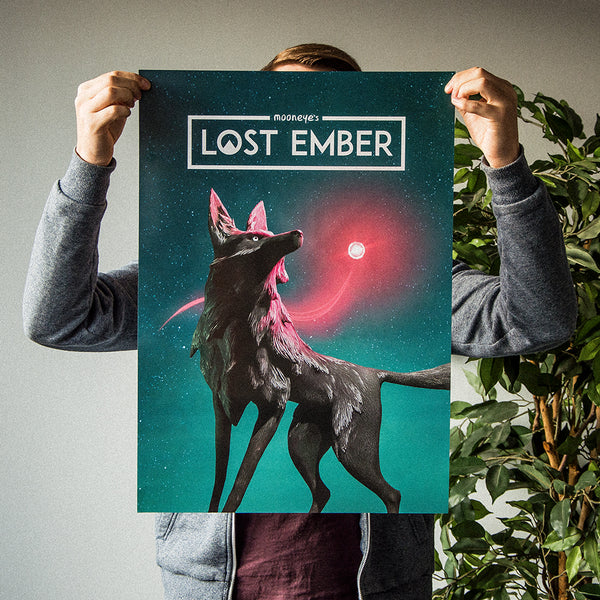 Lost Ember Cover Art Poster