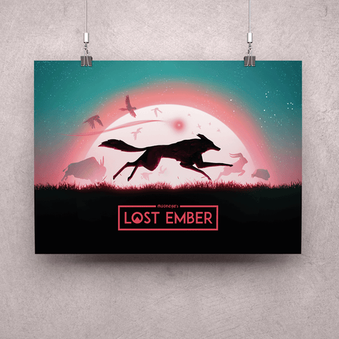 Lost Ember Sun Cover Art Poster