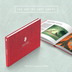The Art of Lost Ember - Printed Artbook