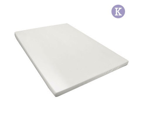 Visco Elastic Memory Foam Mattress Topper 8cm