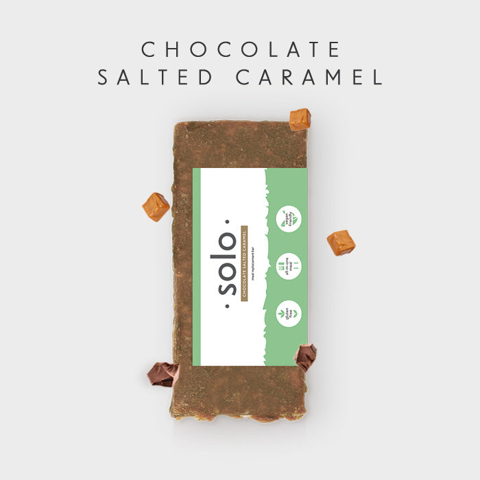 Solo Chocolate Salted Caramel Bar