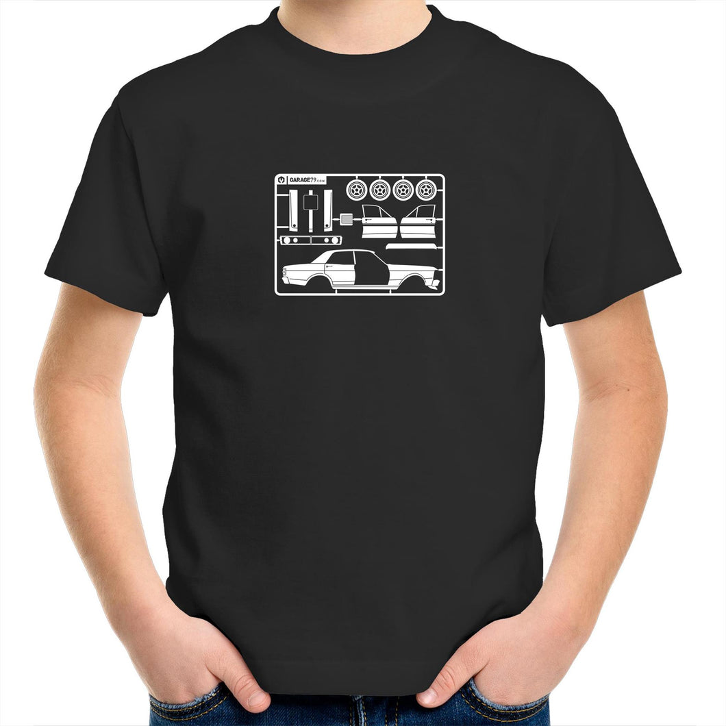 Make Your Own Falcon GT Kids Youth Crew T-Shirt