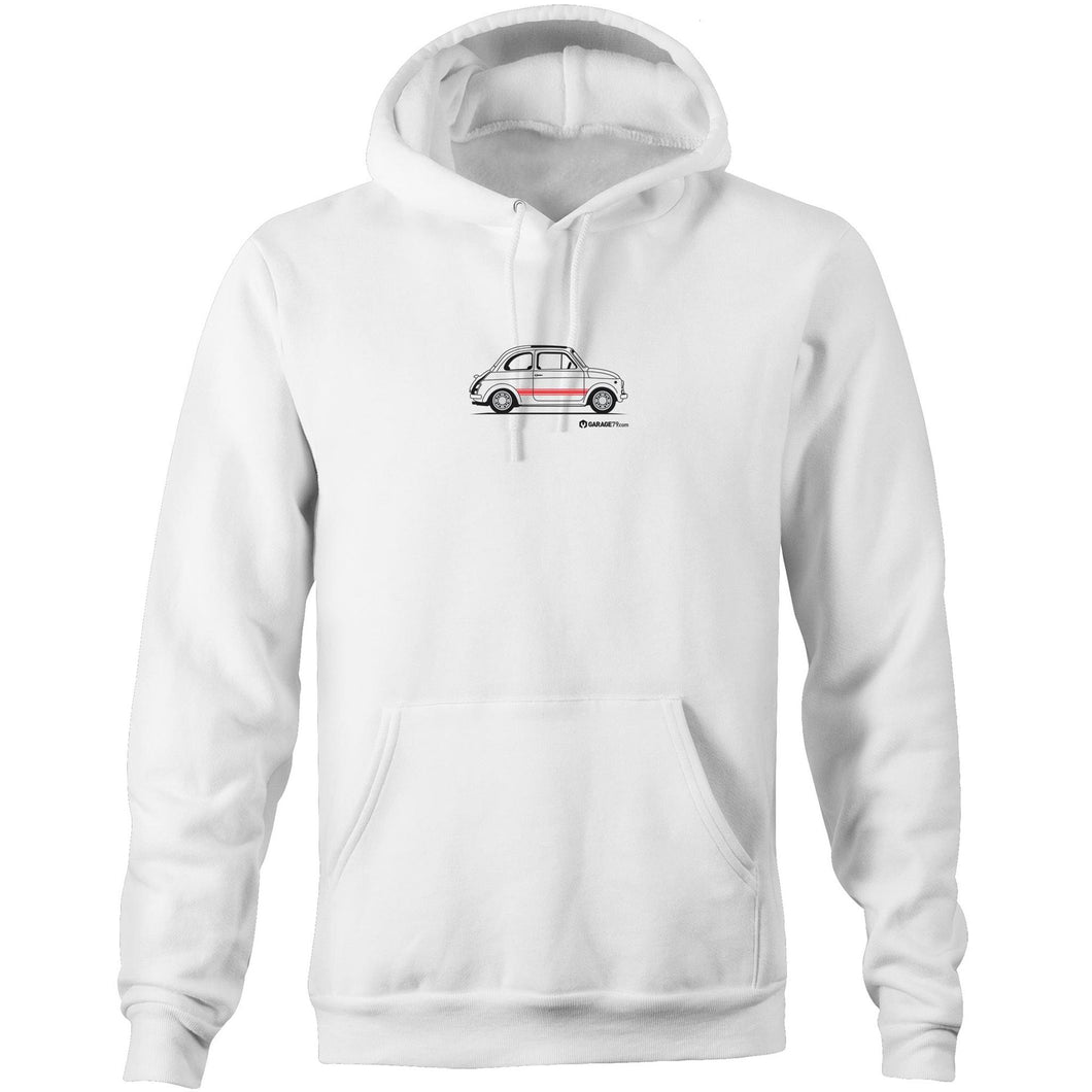 Fiat Side with Red Pocket Hoodie Sweatshirt