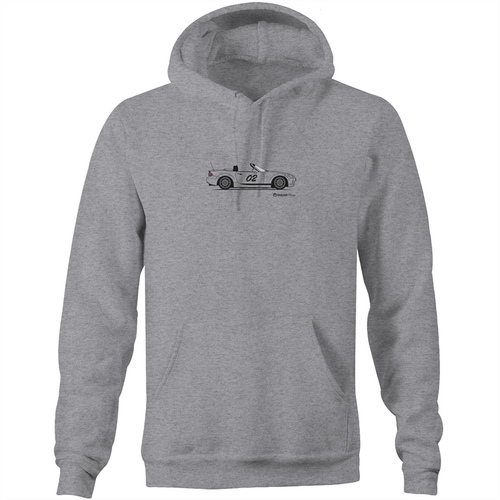 Matt's MX5 Custom Design Unisex Pocket Hoodie Sweatshirt (Print on Demand)