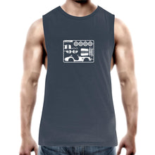 Cobra make Your Own Mens Barnard Tank Top Tee