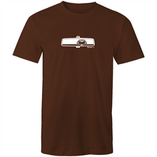 Porsche Rearview Mens T-Shirt (print on Demand)