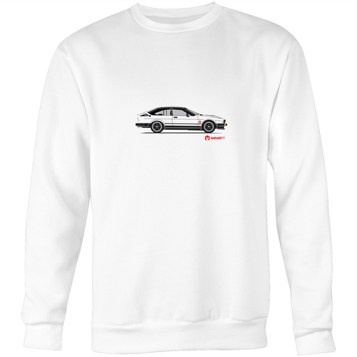 Alfa - Crew Neck Jumper Sweatshirt