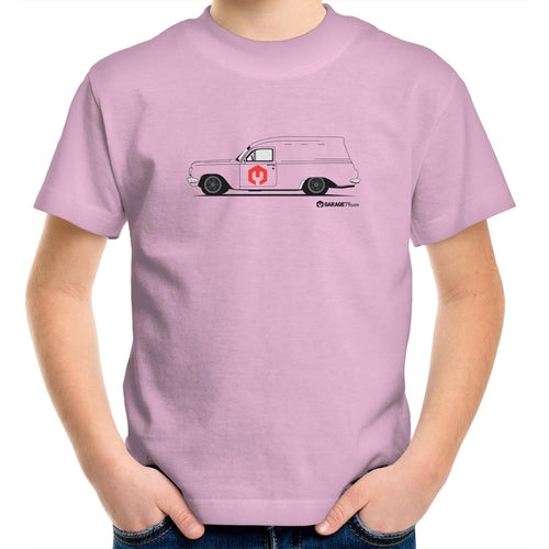 EH Holden Panel Van Kids Youth Crew T-Shirt