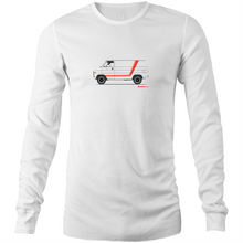 Chevy Van Long Sleeve T-Shirt (Print on Demand)
