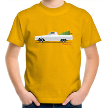 Valiant Christmas Ute Kids Youth Crew T-Shirt