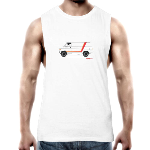Chevy Van Mens Barnard Tank Top Tee