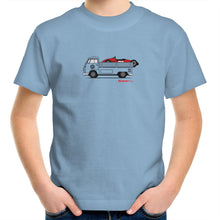 Kombi Ute Side Racer Kids Youth Crew T-Shirt