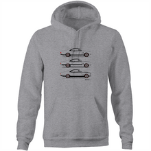 Monaro Triple Treat - Pocket Hoodie Sweatshirt