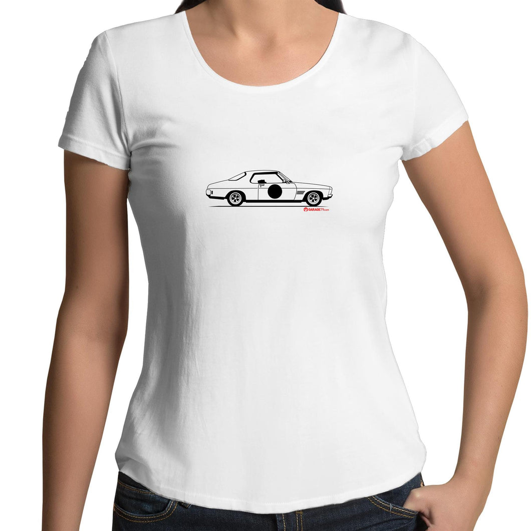 HQ Monaro - Womens Scoop Neck T-Shirt