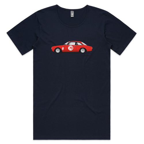Alfa 105 GTV Mens Scoop Neck T-Shirt