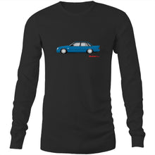 Blue Meanie Mens Long Sleeve T-Shirt