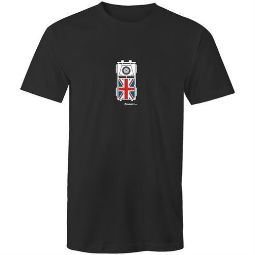 Land Rover Top View - Mens T-Shirt (Print on Demand)