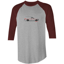 Panel Van on the Side 3/4 Sleeve T-Shirt