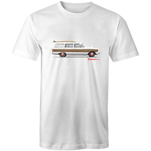 Falcon Surfing Wagon Mens T-Shirt