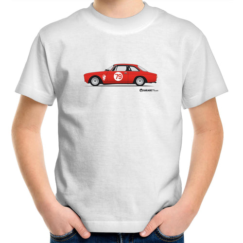Alfa 105 GTV Kids Youth Crew T-Shirt