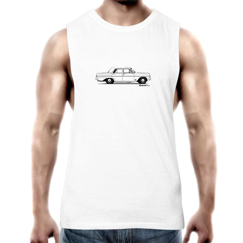 EH Sedan Mens Barnard Tank Top Tee