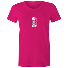 Mini Top View - Women's Maple T'shirt (Print on Demand)