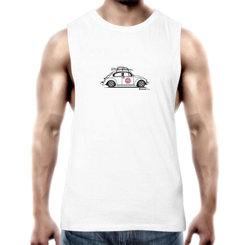Beetle Side Mens Barnard Tank Top Tee