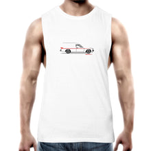 Panel Van Side Mens Barnard Tank Top Tee