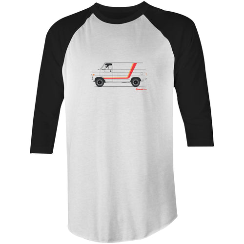 Chevy Van 3/4 Sleeve T-Shirt