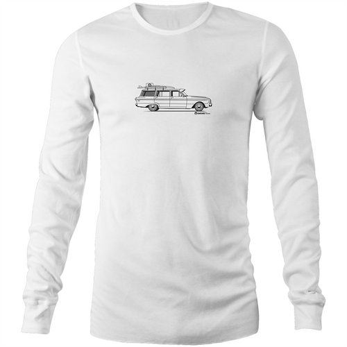 Ford Falcon Mens Long Sleeve T-Shirt (Print on Demand)