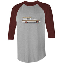 Falcon Surfing Wagon 3/4 Sleeve T-Shirt