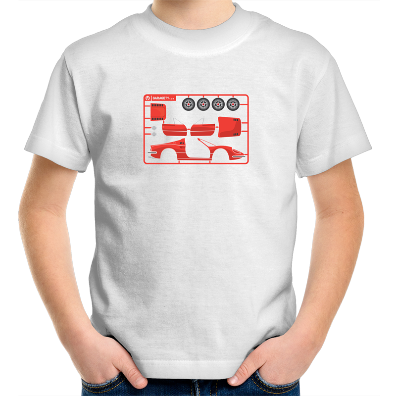 Make Your Own Ferrari  Kids Youth Crew T-Shirt