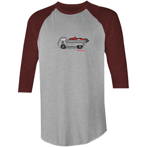 Kombi Ute Side Racer 3/4 Sleeve T-Shirt