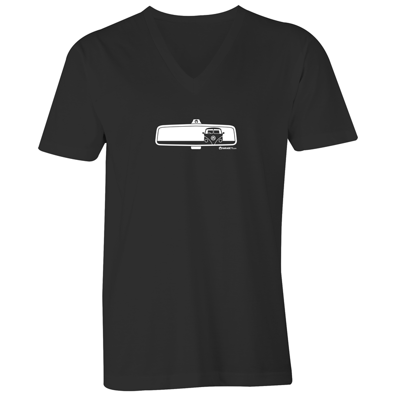 Rearview Kombi - Mens V-Neck Tee