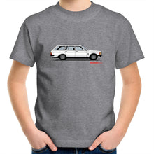 Mercedes Wagon Kids Youth Crew T-Shirt