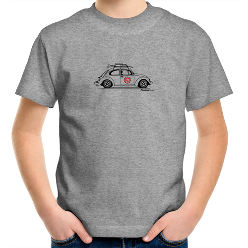 Beetle Side -  Kids Youth Crew T-Shirt